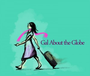 Gal About the Globe